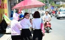 2 ngày đầu tuần nắng nóng từ Nghệ An đến Huế