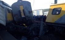 Tàu hỏa tông nhau: 1 người chết, 90 bị thương