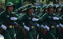 6.000 người diễu binh, diễu hành mừng ngày thống nhất