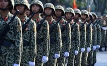 Diễu binh, diễu hành mừng 40 năm thống nhất đất nước