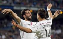 Rodriguez lập siêu phẩm, Real tiếp tục bám đuổi Barca