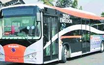 TP.HCM mở tuyến xe buýt điện đầu tiên