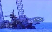 Sập giàn khoan dầu ở Mexico, 2 người chết, 10 người bị thương