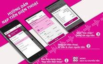 Các cách nạp tiền cho iPad sử dụng SIM trả trước Vinaphone