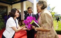 Công chúa Thái Lan Maha Chakri Sirindhorn thăm Unilever Việt Nam