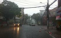 Sài Gòn đang mưa chuyển mùa