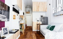 Sống tiện nghi với căn hộ 15m2