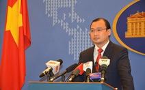 Việt Nam hoan nghênh Hoa Kỳ duy trì hòa bình ở biển Đông