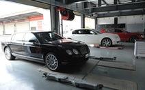 Xe Bentley và Lamborghini phía Nam được kiểm tra miễn phí