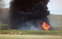 Video máy bay rơi xuống Hawaii, 22 người chết, bị thương