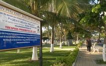 """Tại sao chưa tháo dỡ bảng """"chủ quyền"""" trên bãi biển Nha Trang?"""