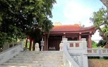 Về thăm ngôi đền thờ sự học đầu tiên của người Việt