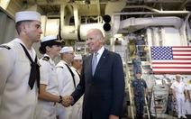 """""""Mỹ sẽ đấu tranhkhông do dự bảo vệ biển Đông"""""""