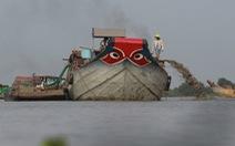 """Sẽ phối hợp xử nghiêm cát tặc """"họp chợ"""" trên sông Đồng Nai"""