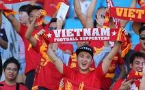 """""""Cảm ơn CĐV Việt Nam"""""""