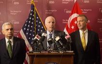 John McCain: Đề nghị Mỹnới lỏng thêm cấm vận vũ khí cho Việt Nam