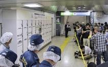 Vali chứa xác người ở nhà ga Nhật cả tháng không ai biết