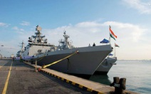 Tàu chiến Ấn Độ cùng các nước ASEAN tập trận