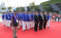Thượng cờ đoàn thể thao Việt Nam tại SEA Games 28