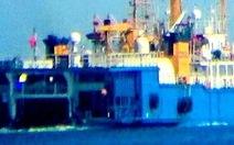 Tàu Tân Hải 517 Trung Quốc đang di chuyển chậm về vịnh Thái Lan