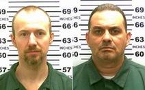 New York nháo nhào truy tìm hai kẻ vượt ngục