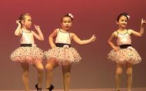 34 triệu lượt xem clip vũ công nhí nhảy cực dễ thương