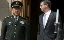 Tiếp tướng Trung Quốc, Lầu Năm Góc yêu cầu ngừng xây đảo nhân tạo