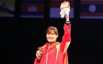 Võ sĩ taekwondo Hà Thị Nguyên giành chiếc HCV thứ 73