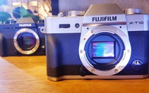 """Fujifilm giới thiệu máy ảnh """"hoài cổ"""" X-T10"""