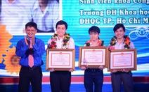 Trao thưởng hội thi tin học thành phố
