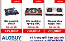 """""""Hấp dẫn"""" thanh lý 200 bếp gas hồng ngoại bán 290,000 đ"""