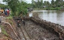 Hơn 40 km bờ biển của tỉnh Cà Mau bị sạt lở nghiêm trọng