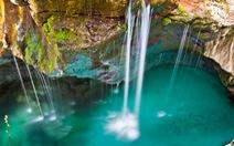 Tuyệt sắc dòng sông màu xanh lơ ở Slovenia
