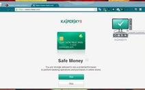 Bảo vệ giao dịch trực tuyến bằng Safe Money