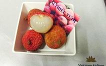 Vietnam Airlines phục vụ tráng miệng bằng trái vải