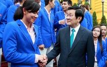 """Chủ tịch nước: """"Tôi kỳ vọng SEA Games 29  đoàn TTVN  đứng thứ 2"""""""