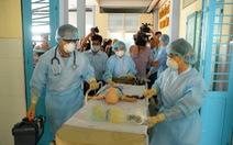 Bệnh viện Nhi Đồng 1diễn tập phòng chống dịch MERS-CoV