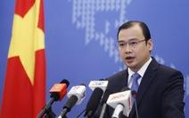 Yêu cầu Trung Quốc chấm dứt ngay các hoạt động bồi đắp ở Biển Đông