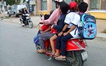 332.000 người đi xe máy bị phạt vì mũ bảo hiểm