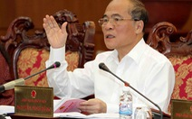 """Chủ tịch Quốc hội Nguyễn Sinh Hùng: """"Một kỳ họp hợp lòng dân"""""""
