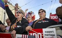 Mỹ công nhận hôn nhân đồng tính trên cả nước