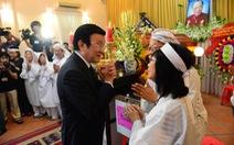 Chủ tịch nước viếng lễ tang GS.TS Trần Văn Khê