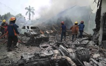 Vụ rơi máy bay ở Indonesia: Đã có 113 người chết