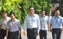 Bộ trưởng Bộ GD - ĐT kiểm tra thi THPT tại Thái Nguyên