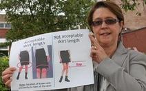 Trường trung học Anh cấm nữ sinh mặc váy đến trường