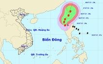 Bão LINFA tiến lên đông bắc biển Đông, cả nước chuyển mưa