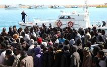 Chìm xuồng, 12 người chết ngoài biển Địa Trung Hải
