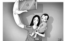 Khoe con trên mạng xã hội: coi chừng rủi ro