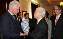 Tổng bí thư Nguyễn Phú Trọng thăm gia đình cựu tổng thống Bill Clinton