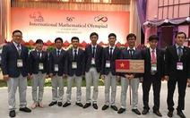 Việt Nam đứng thứ 5Olympic toán học quốc tế